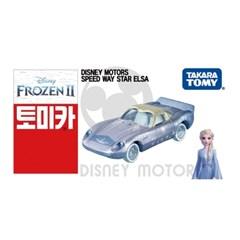 [토미카] 디즈니 DM 겨울왕국2:스피드웨이 엘사