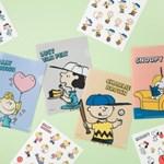 [peanuts] 미니 파일폴더&스티커 (4종)