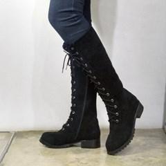 kami et muse Suede lace up long boots _KM19w207