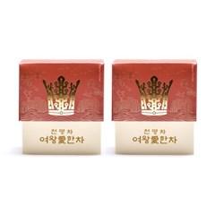 해피하우스 신라 전통 왕실 전통차 천명차 20포 여왕 선물세트