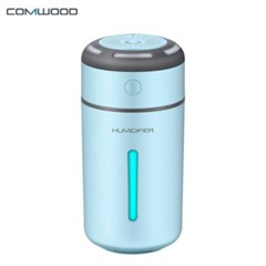 트루디 CWH-1000 무소음 초음파 LED 미니 USB 가습기