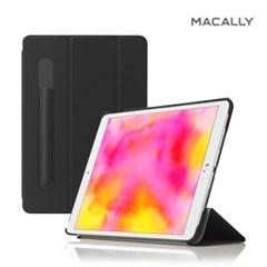 맥컬리 아이패드 7세대 10.2 스마트커버 애플펜슬 케이스 블랙