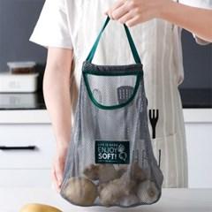 대용량 튼튼한 다용도 채소 보관함 양파망 마늘망