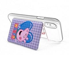 [T] 파파피그 핑크 카드수납 백팩