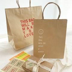 [소행섬] 기프트백 크라프트 종이쇼핑백 모음