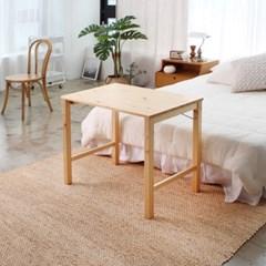 에코상사 원목 접이식 테이블 800