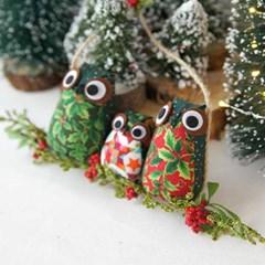 크리스마스 부엉이 가랜드 (2type)_(1820626)
