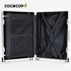 코코캅 델라2 24인치 수화물 블루 알루미늄 100% 여행용 캐리어