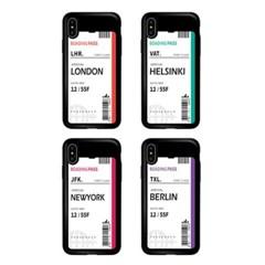 아이폰11ProMax TCB-에어플레인티켓 카드 범퍼 케이스_(2521708)