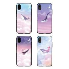 아이폰7플러스 TCB-달빛고래 카드 범퍼 케이스_(2521615)