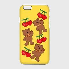 [하드,터프,슬라이드]Big cherry bear-yellow