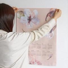 누키트 벚꽃 2020 패브릭달력