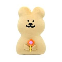 [한톨상점]반곰이의 소듕한 꽃 납작쿠션
