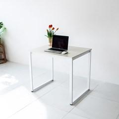 [채우리] 쿠드 800 화이트 철제 책상/테이블
