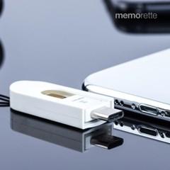 [메모렛] 스마트 C타입 OTG MicroSD 리더기 MI-OR006