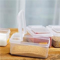반오픈 저장용기 조미료통 양념통 (500ml)