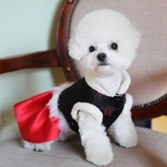 고급 양단 누비 설날 추석 애견한복 강아지한복