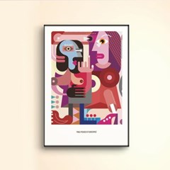 [modern art] 픽토프레임 PICF-728B_(2313703)