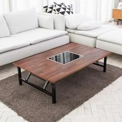 [리코베로] 인덕션 철제 접이식 좌식 식탁 테이블 6가지 컬러