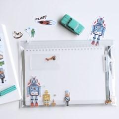[MU] Crystal Rub-In Sticker CRO-012