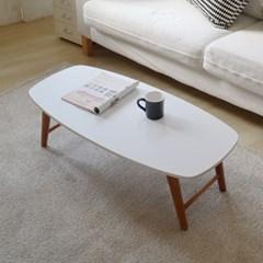 [리코베로]비너스 모던 라운딩 접이식 테이블 1000 2컬러