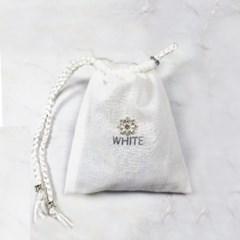 WHITE 눈꽃큐빅 퍼퓸포켓(샤쉐)