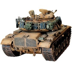 HOBBY MODEL KITS 미군 M60A1 증가 장갑전차 탱크