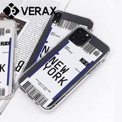 아이폰11프로 11PRO 유니크 티켓 젤리 케이스 P446_(2320762)