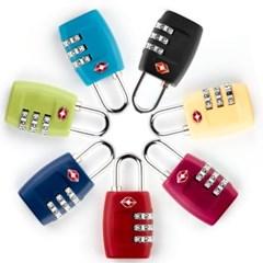 TSA 캐리어 3열 자물쇠 잠금장치 도난방지_(2332044)