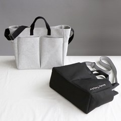 [사은품증정]코니테일 다즐링 숄더백 - 캔버스그레이 (기저귀가방)