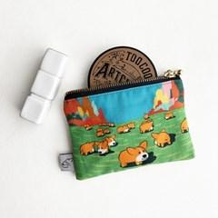 코기맨 cotton mini 파우치 시리즈