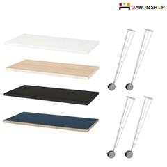 이케아 LINNMON/KRILLE 바퀴달린 이동식 테이블 (120*60)/책상/식탁/