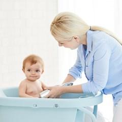 아이팜 스탠딩 접이식 아기욕조 기저귀 갈이대 교환대 신생아욕조