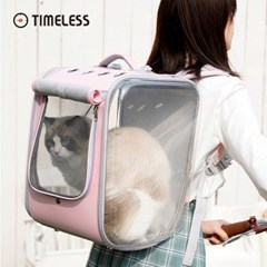 타임리스 PETSEEK 고양이백팩 애견백팩