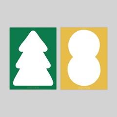 MEMO PAD. TREE & PEANUT