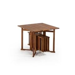 거스타브 아웃도어 폴딩 테이블&체어 세트