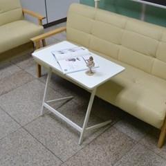 니트 사이드 테이블 대형 화이트_(2462242)