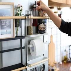 냉장고 자석 멀티 정리대  2color (대형사이즈)