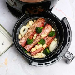 세척쉬운 에어프라이어전용  요리조리팟