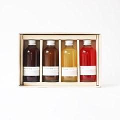 4종 시원한 과일 시럽 선물세트