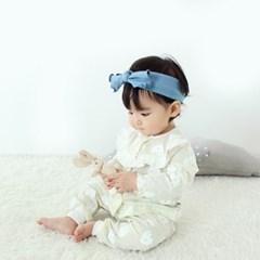 [메르베] 팡팡여아 신생아 유아 내복/내의/아기실내복__(1378477)
