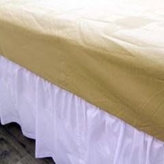 침대커버 스커트단