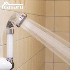 카사루 SH-003-F 3중필터 샤워헤드 수압상승 절수효과