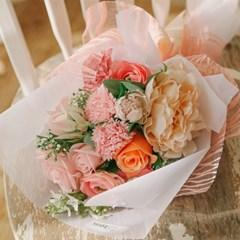 [메세지픽+쇼핑백증정] 라라스톤 자스민 수국 비누꽃다발