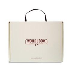 [설선물] 우주쿡 궁중 잡채 키트 4개+선물상자