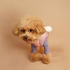 My Dogs Padding Vest 마이 도그스 패딩 베스트_Pale Pink
