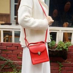 실버버클Y 미니크로스백 여성 가죽 가방 숄더백 핸드백