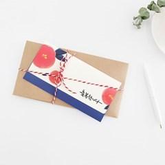 청현재이 좋은소식 봉투 (1세트 3매) 6종