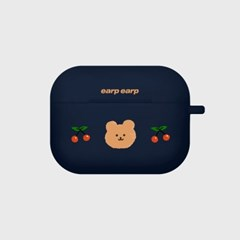 Dot cherry bear-navy(Air pods pro)_(1427537)