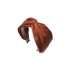 simple twist hairband (brick)